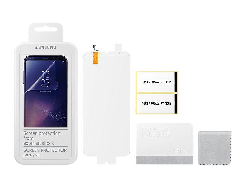 - Đặc biệt miếng dán màn hình Galaxy S8 còn chống xước, có khả năng bảo vệ mắt bạn khỏi các tia cực tím trên màn hình điện thoại Samsung và hơn thế là có thể dán lại nhiều lần mà không lo bị hỏng.