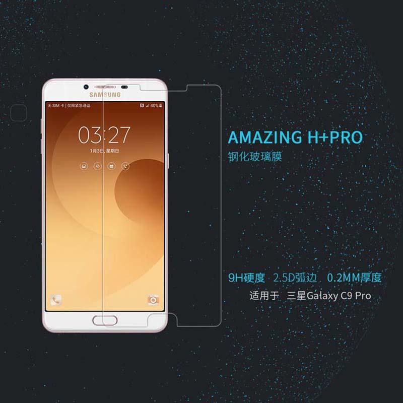Kính cường lực Galaxy C9 Pro hiệu Nillkin H+ Pro