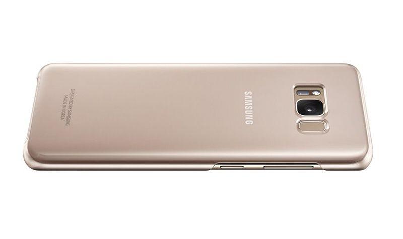 Ốp lưng Clear Cover Galaxy S8 chính hãng