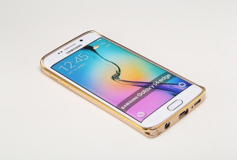 Ốp viền nhôm Samsung Galaxy S6 Edge chính hãng
