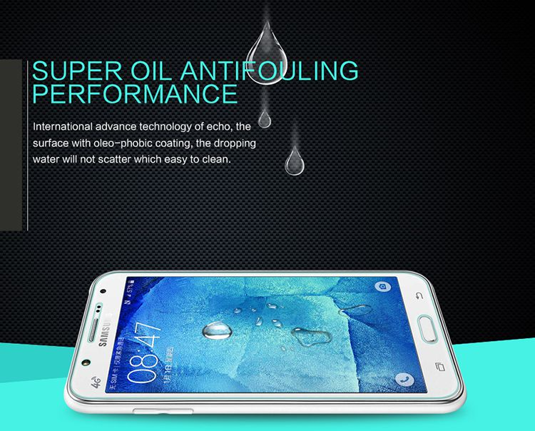 Kính cường lực Samsung Galaxy J7 hiệu Nillkin 9H chính hãng