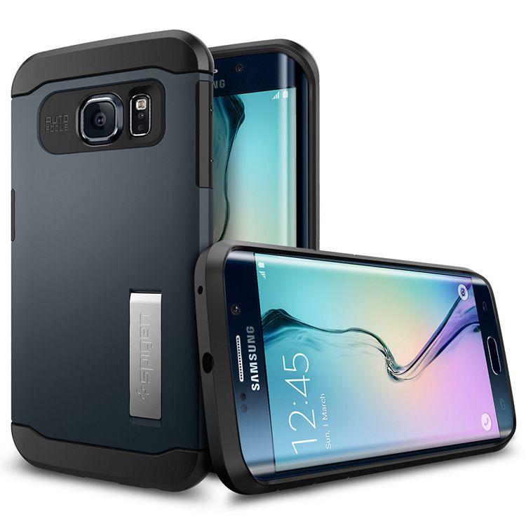 Ốp lưng Samsung Galaxy S6 Edge Spigen Slim Armor chính hãng