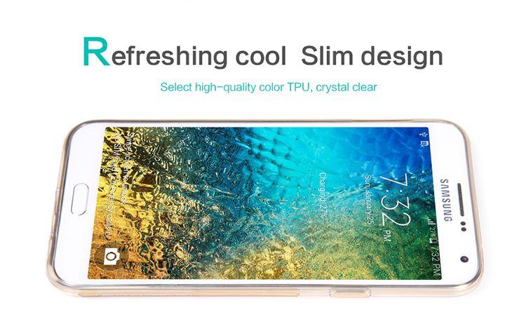 Ốp lưng Silicon Samsung Galaxy J7 hiệu Nillkin chính hãng