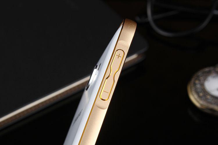 Ốp viền nhôm chỉ vàng Samsung Galaxy J5 chính hãng