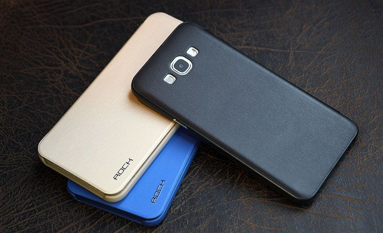 Bao da Samsung Galaxy A8 hiệu Rock Touch chính hãng
