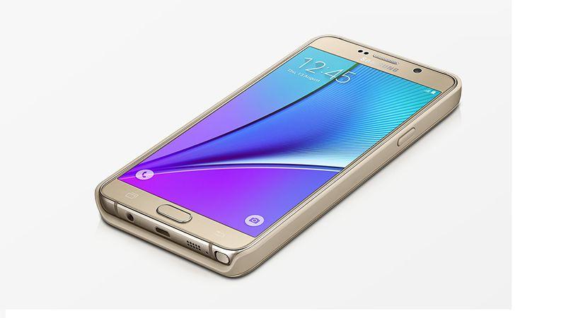 Ốp lưng kiêm sạc dự phòng không dây Galaxy Note 5