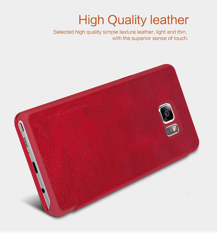 Bao da Galaxy Note 7 hiệu Nillkin Qin