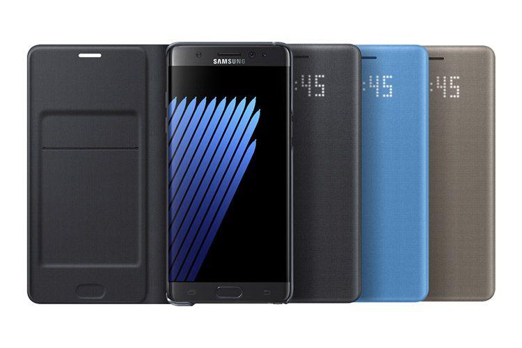 Bao da Led View Galaxy Note 7 chính hãng