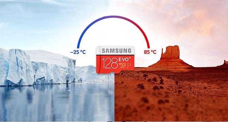 Thẻ nhớ Samsung 128GB Plus Evo chính hãng