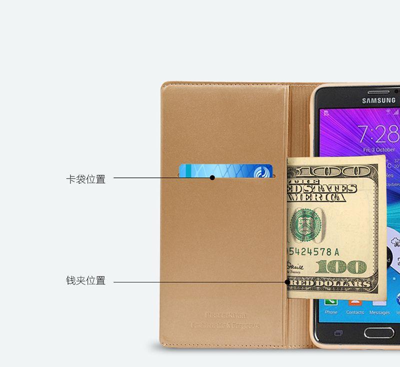 Bao da Samsung Galaxy S6 Edge hiệu Royal