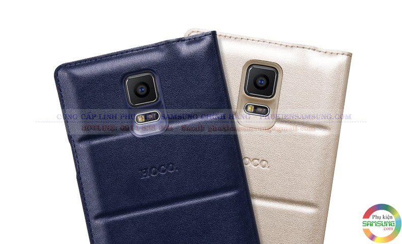 Bao da S View note 4 hiệu Hoco bảo vệ tốt cho điện thoại