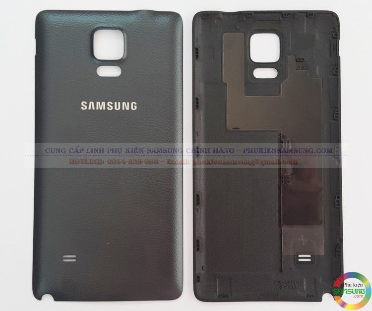 Nắp lưng Galaxy Note 4 màu đen