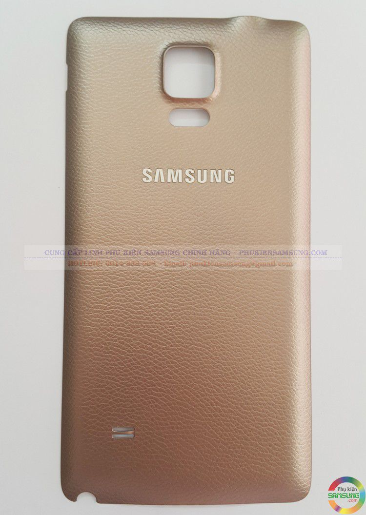 Nắp pin galaxy note 4 gold