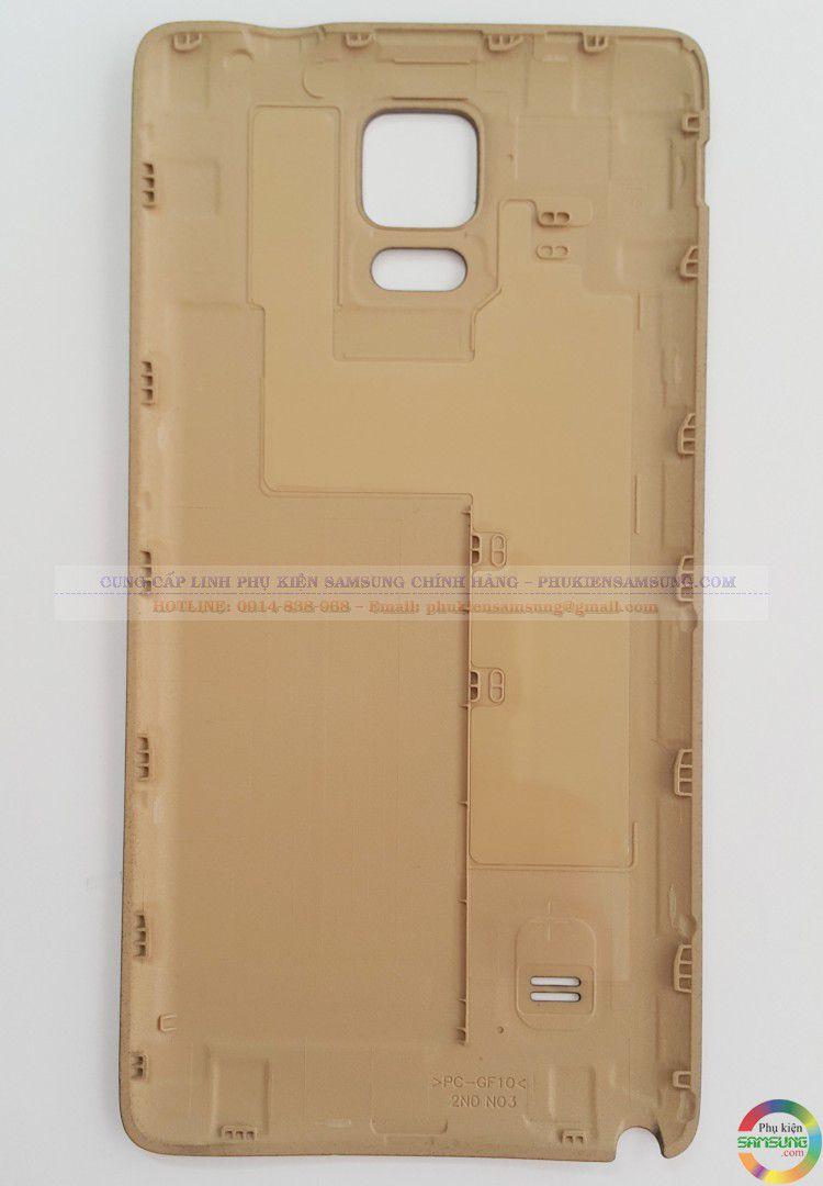 Nắp Pin NOte 4 chính hãng gold