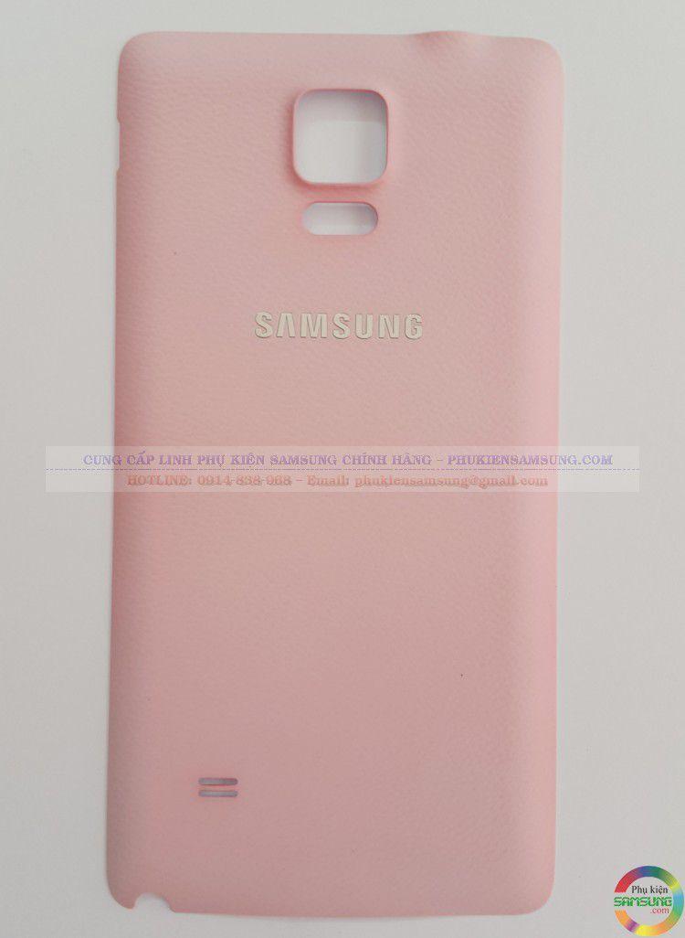 Nắp lưng Note 4 màu hồng