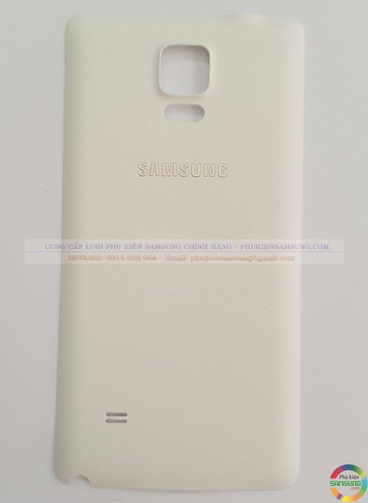 Nắp Pin Galaxy note 4 white