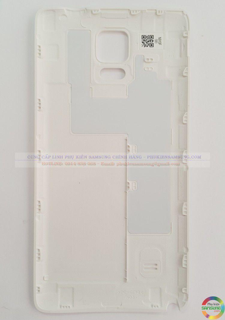 Nắp lưng Samsung Galaxy note 4 trắng