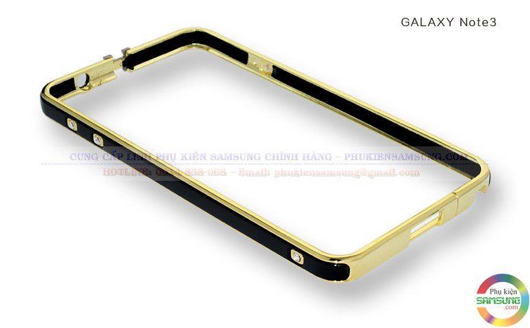 Ốp viền Hermes cho Galaxy Note 3 với khóa ở trên