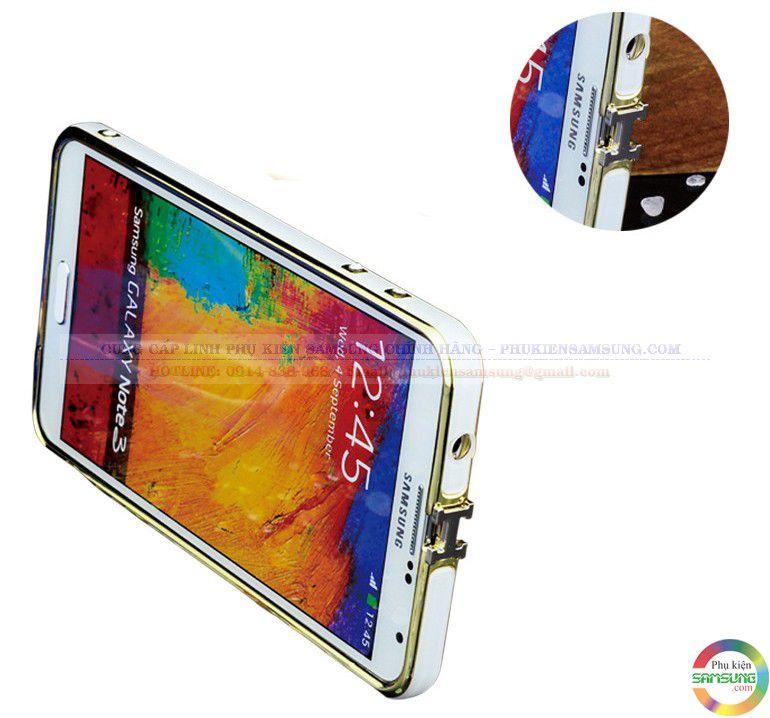 Ốp viền Hermes cho Galaxy Note 3 với logo H