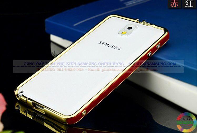 Ốp viền Hermes cho Galaxy Note 3 đỏ vàng 02