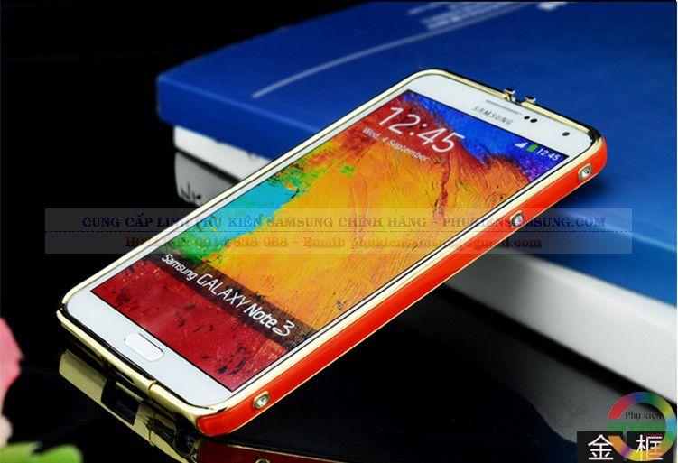 Ốp viền Hermes cho Galaxy Note 3 đỏ vàng 03