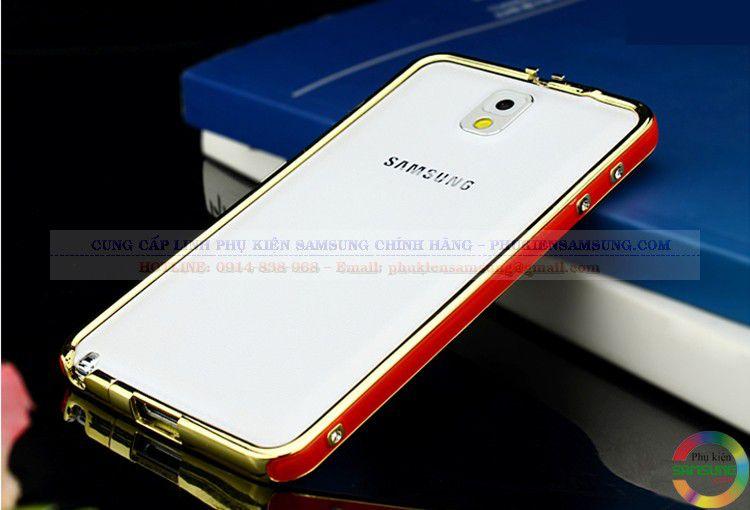 Ốp viền Hermes cho Galaxy Note 3 đỏ vàng 04