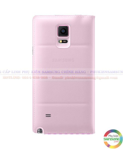 S View cover Galaxy Note 4 màu hồng