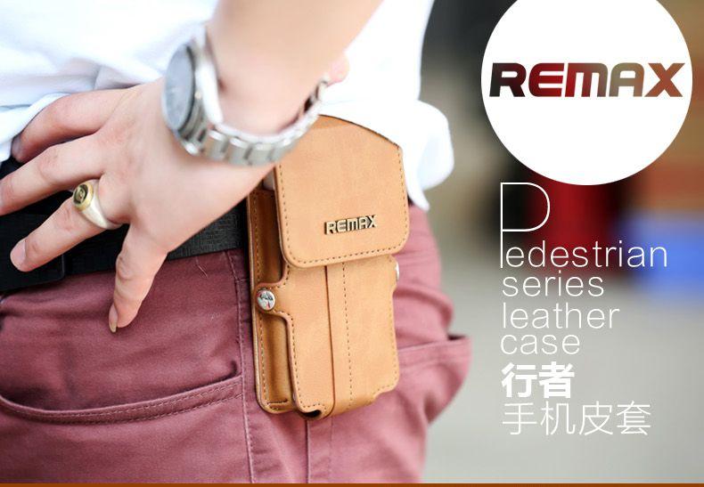 Bao da remax cho Samsung GAlaxy Note 4 màu nâu