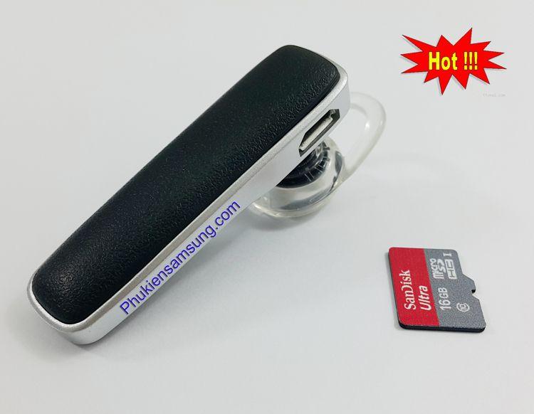 Combo khuyến mại tai nghe bluetooth và thẻ nhớ sandisk 16Gb