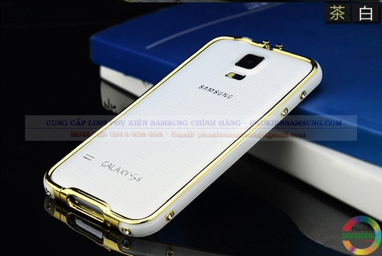 Ốp viền Galaxy S5 Hermes chính hãng