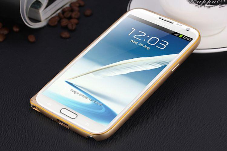 Ốp viền chỉ vàng cho Galaxy Note 2