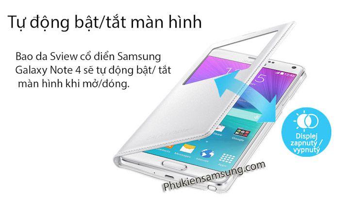 Bao da cho Note 4 Classic