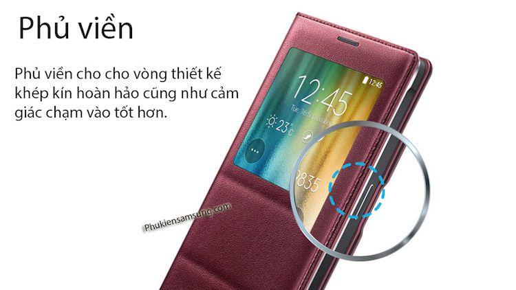 Bao da chính hãng cho Galaxy note 4