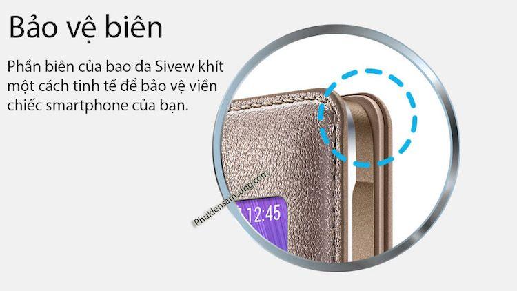 Bao da S View Note 4 chính hãng
