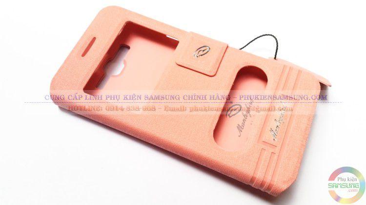 Bao da Samsung Galaxy Grand Prime G530 màu hồng phớt được đa số khách hàng trẻ tuổi lựa chọn để bảo vệ cho chiếc điện thoại của mình