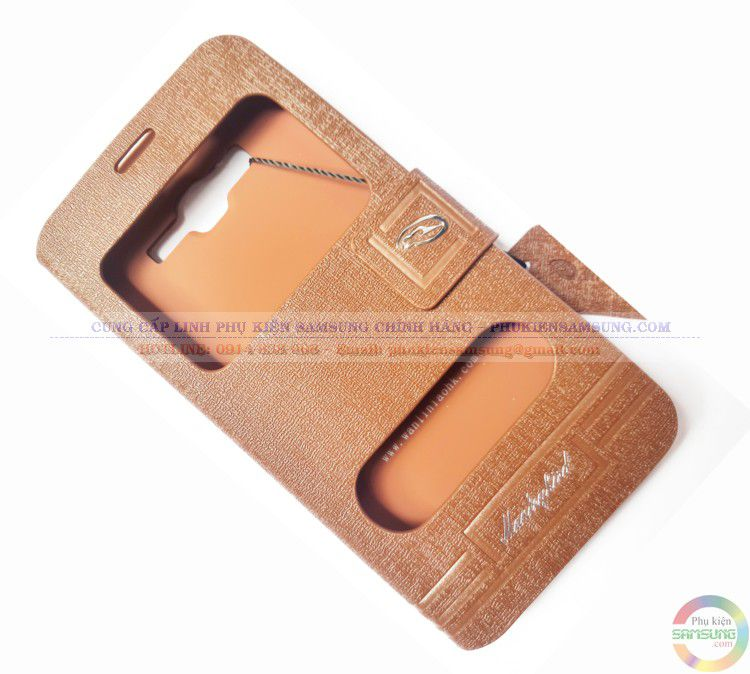 Bao da grand prime màu nâu cũng được đa số khách hàng trung niên lựa chọn cho chiếc Smartphone của mình.