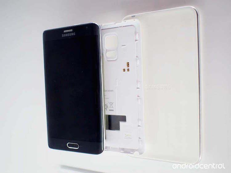 Nắp lưng sạc không dây cho Galaxy Note 4