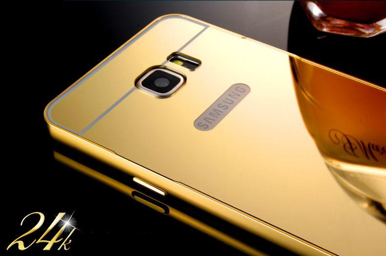 Ốp lưng nguyên khối nhựa bóng Samsung Note 5