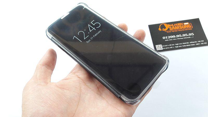Bao da Clear View Galaxy S7 Edge chính hãng