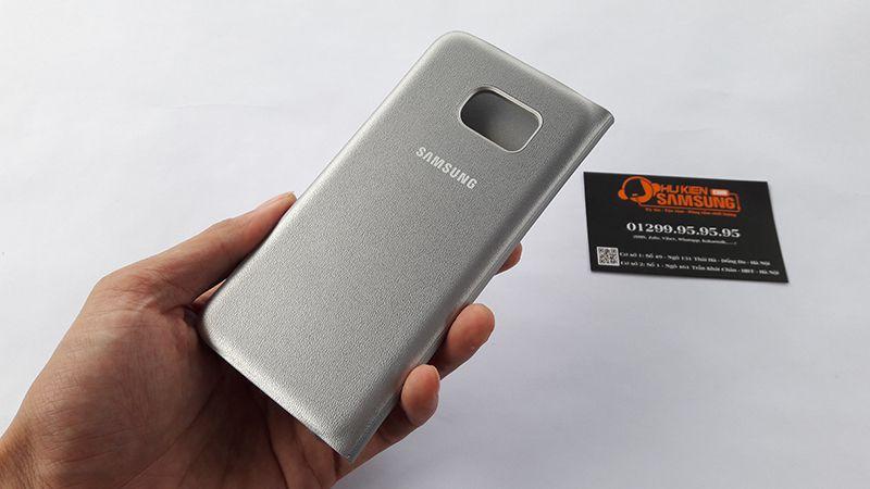 Bao da Led View Cover Samsung Galaxy S7 Edge chính hãng