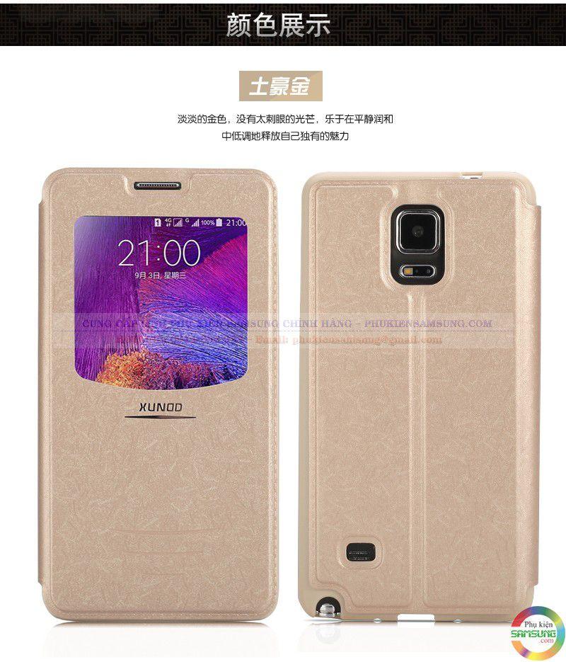 Bao da Galaxy Note 4 hiệu Xundd