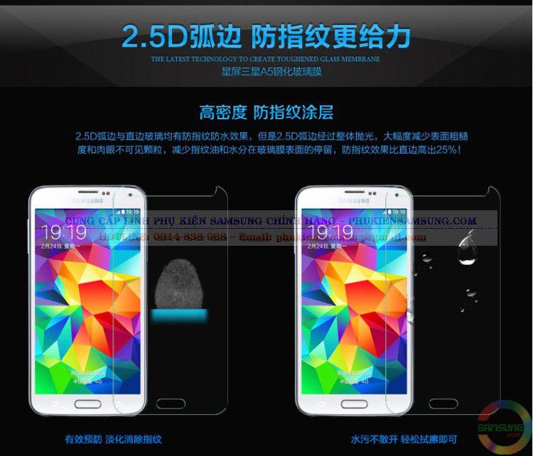 Chống nước, chống nhiệt độ cao tốt, kính cường lực Samsung A3 là sản phẩm không thể thiếu để bảo vệ cho điện thoại của bạn