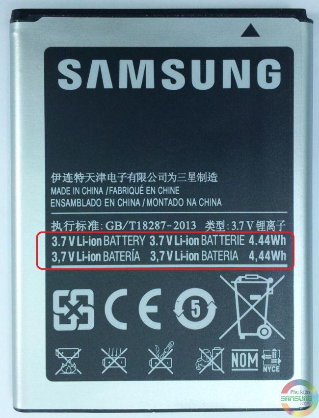 Pin Samsung Galaxy Y Duos S6102