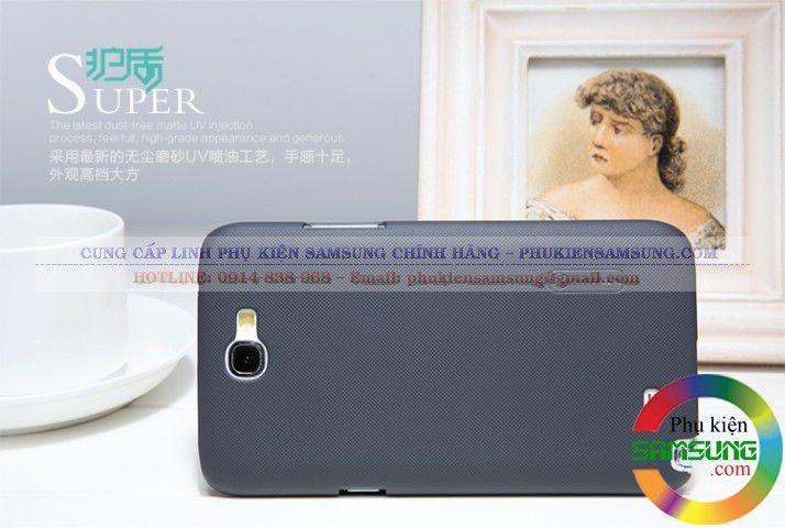 Ốp lưng Galaxy Note 2 N7100 Nillkin màu đen