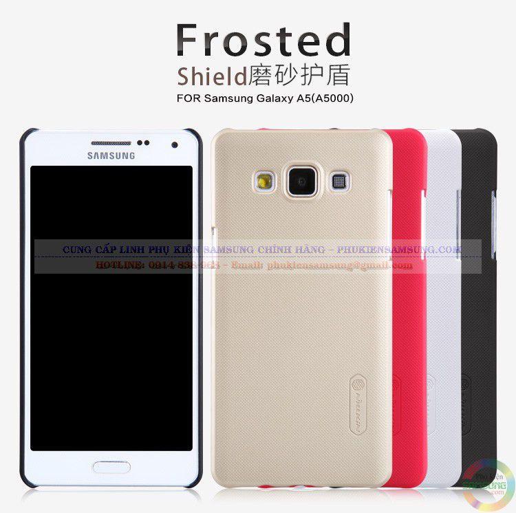 Ốp lưng Samsung Galaxy A5 hiệu Nillkin chính hãng đa dạng về màu sắc