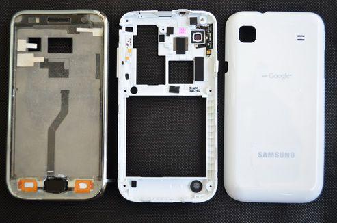 Vỏ Samsung Galaxy S1 i9000 - Trắng