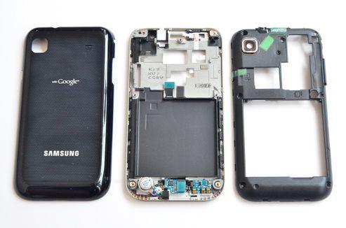 Vỏ Galaxy S1 - Đen I9003
