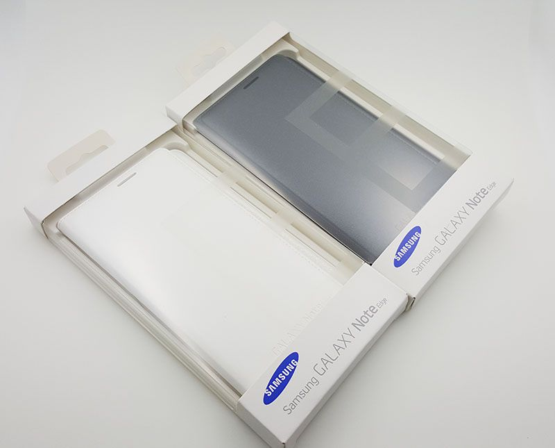 Nguyên hộp sản phẩm bao da Flip Note edge màu đen