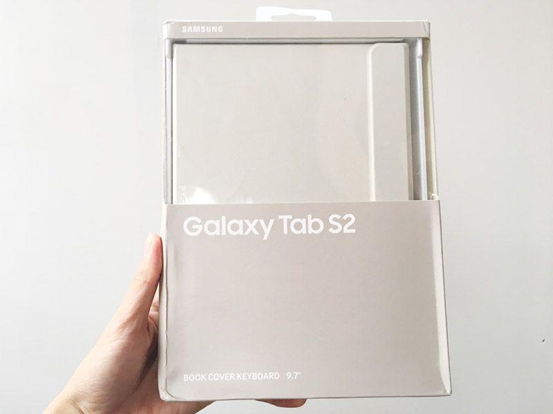 Bao da kèm bàn phím bluetooth Galaxy Tab S2 9.7 chính hãng