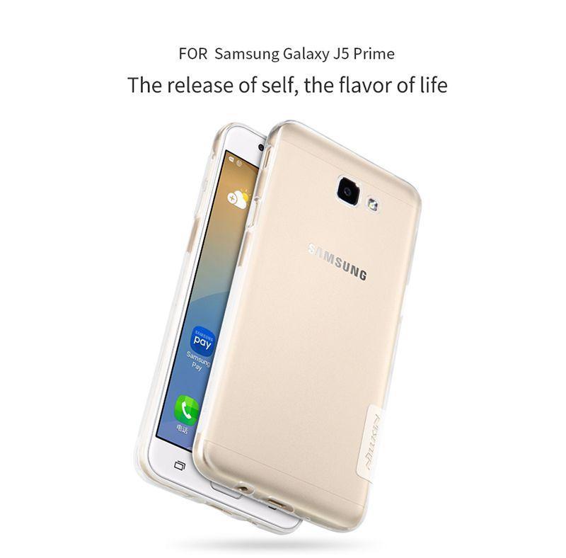 Ốp lưng Silicon Galaxy J5 Prime hiệu Nillkin